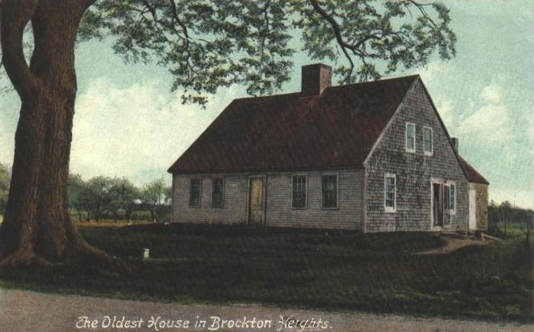 Oldest House in Brockton Heights MA